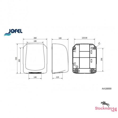 Электросушилка Jofel AVE 1400 Вт.