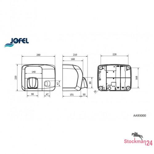 Электросушилка Jofel Ibero 2000 Вт