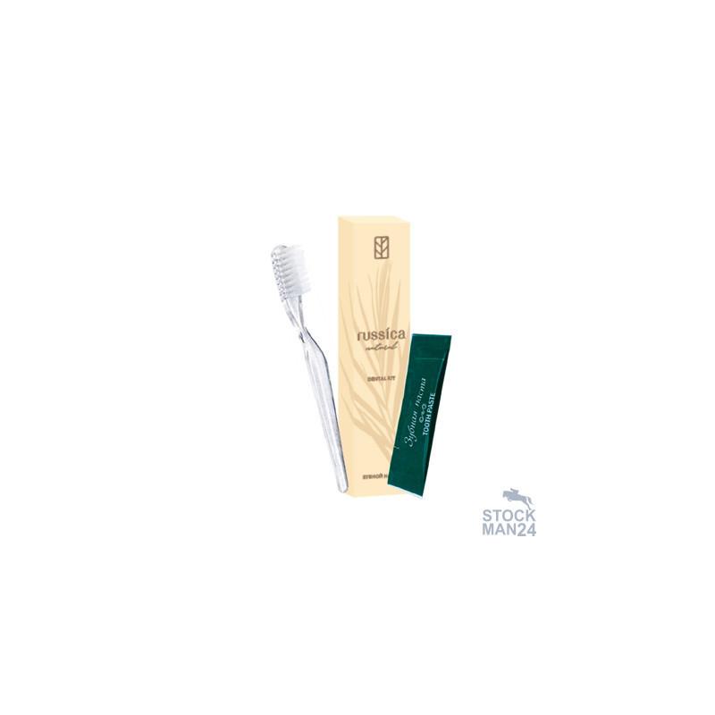Зубной набор Руссика Эконом, картон